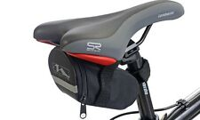 Bicycle Cycle Bike Weather Resistant Saddle Rear Bag Pouch Seat Storage Black