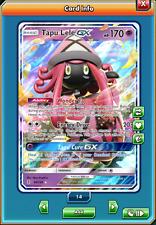 Tapu Lele GX 60/145 Guardians Rising - Pokémon TCG Online (PTCGO) - ONLINE CARD