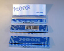 Moon Blue 1.25 Cigarette Papers (3 Books; 40 Fine Rolling Papers per Book)