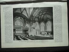 1906 Frankfurt Matthäus Kirche Hamburg Schweinemarkt Teil 1