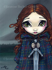 Jasmine Becket-Griffith art print SIGNED A Walk Through the Highlands scottish