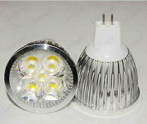 4W 12V LED MR16 Light Spot Lamp Bulb Energy-Efficient Living Room Bedroom Hotel