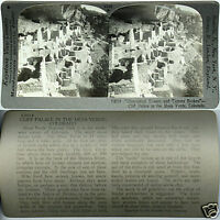 Keystone Stereoview of CLIFF PALACE, Mesa Verde, COLORADO From 600/1200 Card Set