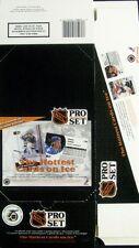 1991 Pro Set Hockey - Empty Display Box