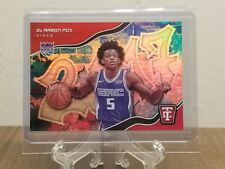 2017-18 Panini Totally Certified De'Aaron Fox #5 Rookie