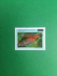 Bénin surchargé overprint 175f sur 300f neuf MNH poisson