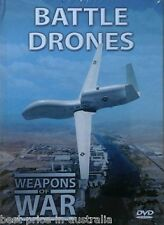 WEAPONS OF WAR - Battle Drones DVD + BOOK WORLD WAR TWO WWII Planes BRAND NEW R0