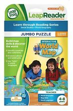 LeapReader: Interactive World Map - Jumbo Puzzle