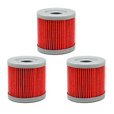 3X Oil Filter AHL139 for Suzuki LTR450 QUADRACER 06~09 LTZ400 QUADSPORT 03~09