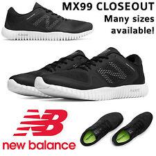 NIB Men\u0027s New Balance 99 MX99BK Flexonic Shoes 4E WIDE 613 Black 615  Downshifter