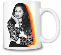 Selena Gomez Rainbow themed 11oz Ceramic coffee Mug Birthday gift.