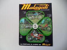 advertising Pubblicità 1974 MALAGUTI FIFTY/CAVALCONE CROSS 50/MOTORIK/QUATTROTTO