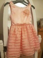 Girls Party Dress Light Orange size 5yrs See description