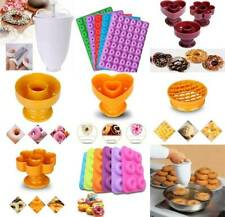 6-Cavity Moule Poêle Silicone Donut Muffin Chocolat Cookie Cupcake Cuisson US