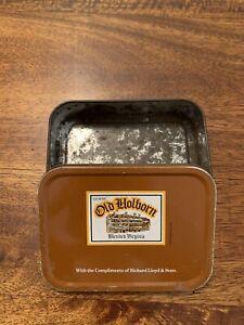 Vintage Brown Lid, Old Holborn Tobacco Tin