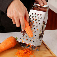 Metal Cheese Grater Carrot Potato Slicer Cutter Box Grater Kitchen Gadget Small