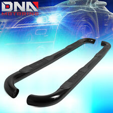 "FOR 2009-2018 RAM TRUCK 1500 EXTENDED CAB BLACK 3""TUBING NERF BAR STEP BOARDS"