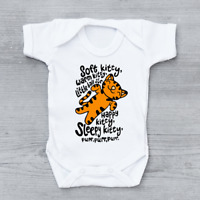Soft Kitty The Big Bang Theory Funny Sheldon Cooper Unisex Baby Grow Bodysuit