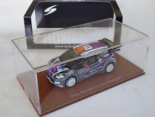 Spark 1/43 Citroen DS3 C3 WRC Acropolis Rally 2011 P van Merksteijn jr OVP S3305