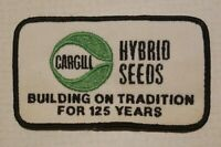 Cargill Hybrid Seeds Embroidered Patch / Seed Corn / Farm / For Hat Jacket Coat