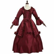 Vestido de Laço Vitoriano Vintage vestido de baile vestido Flare Mangas Vestido Com as anquinhas