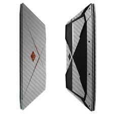 Skinomi Silver Fiber Black Skin Protector for HP Omen (15-CE011DX)
