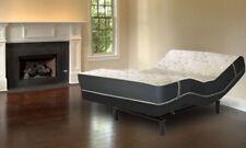 "13"" Queen Hybrid w/ Latex Mattress Leggett & Platt S-Cape 2.0 Adjustable Bed"