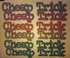 "1970's Vintage Roach Iron On "" Cheap Trick "" ( #D134 )"