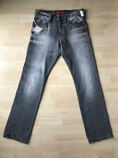 REPLAY Herren Denim Jeans WAITOM M983 Regular Slim W 31 / L 32 grau UVP.149 NEU