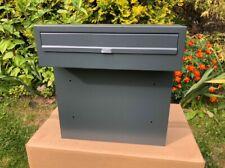7016 grigio antracite Cassetta postale a muro per cancelli e recinzioni