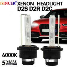 2x 55W D2S D2R D2C HID XENON HEAD LIGHT BULBS LAMP LOW BEAM Diamond White 6000K@