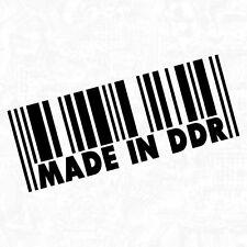 Made In DDR Ost Ossi Deutschland Osten Moped Shocker Sticker Aufkleber JDM 15cm