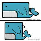 Whale Silicone Case Cover for Samsung Galaxy Buds Pro / Live / Buds / Buds+ Plus