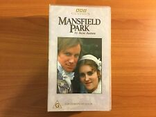 Mansfield Park VHS Video. BBC Classics by Jane Austen.