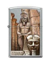 BRIQUET ZIPPO NEUF - LOUXOR TEMPLE EGYPTIEN ( Original , Tempete , Collection )