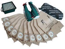 Servicebox geeignet für  Vorwerk Kobold 130/131/131 Filter +Tüten+Bürsten