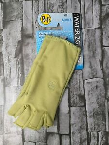 Buff Sport Series Water 2 Gloves Water/ Angler 15357 XS/S 7/8 Light Sage New
