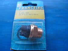 Thermocontact de ventilateur Francelec pour Citroën AX, CX, 205, 405, Audi 50,