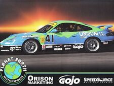 2002 Planet Earth Motorsports Porsche 911 GS II Grand Am Cup postcard