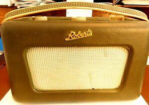 VINTAGE ROBERTS R 300 TRANSISTOR RADIO W/ SWIVEL BASE-NONE LIKE IT ON EBAY  LO 2