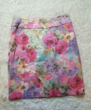 Review Polyester Floral Skirts for Women