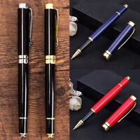 Luxury Metal Signature Gel Pen Ball-point Pens Business Office Writing Supplies