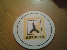 sottobicchiere beer mats birra becker ,