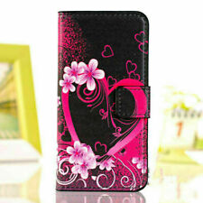 FLIP WALLET PU LEATHER CASE STAND COVER FOR APPLE iPHONE 5 6 7 8 + X XR XS XSMAX