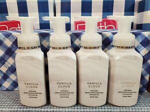 Bath & Body Works VANILLA CLOUD Gentle Foaming Hand Soap X4