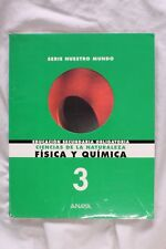 Book Physical and Chemistry. 3º Secondary Education mandatory. 1998