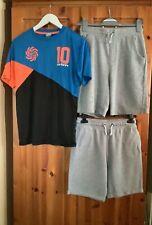 Boys bundle 13-15 yrs. shorts+'carbrini' t-shirt.