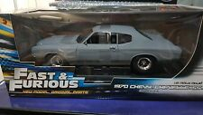 Johnny Lightning - 1:18 Fast and Furious - 1970 Chevy Chevelle - Primer  - New