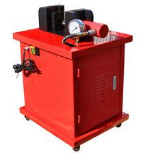 Electric 4-3/4 x 3/8 Thickness Bu 00000188 Sbar Bender Cuttter Puncher w 4 Dies Hydraulic