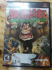 RAMPAGE TOTAL DESTRUCTION 2006 PS2 SONY PLAYSTATION 2
